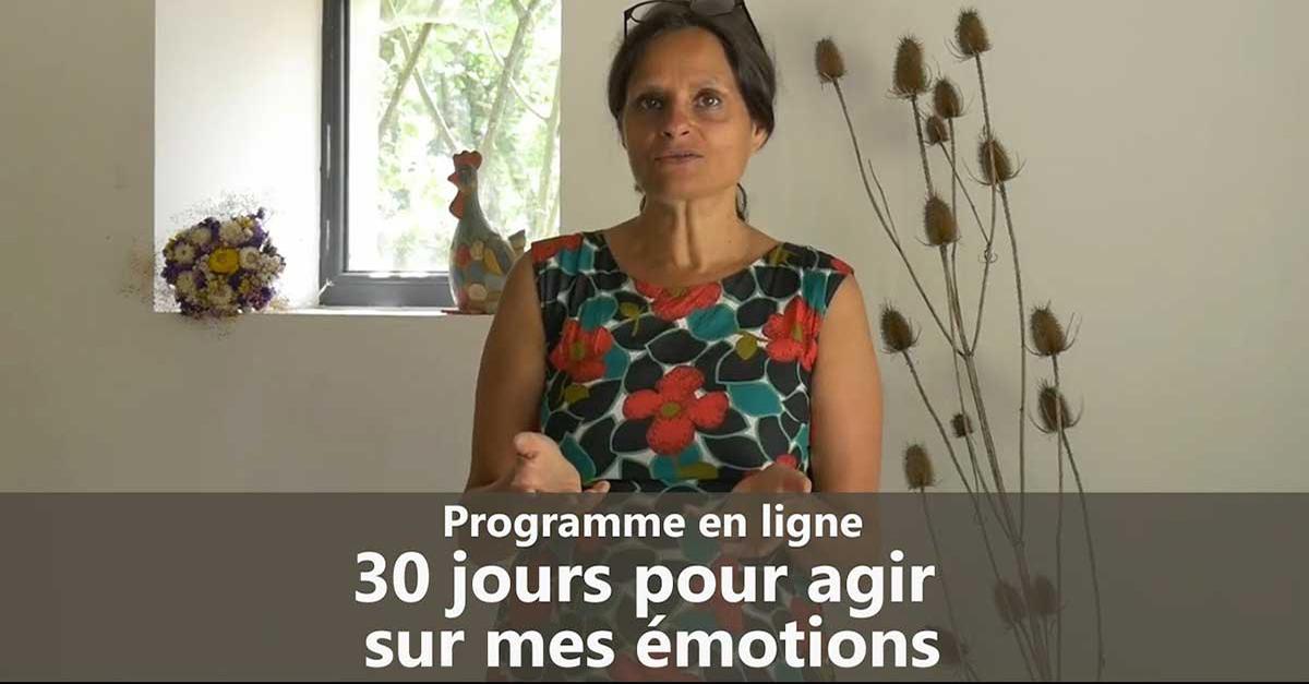 30 jours pour agir sur mes émotions !